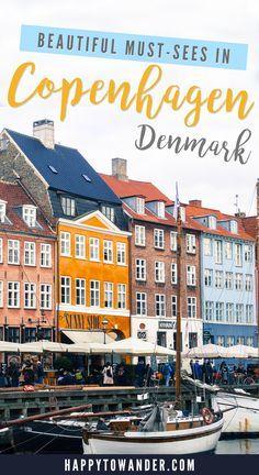 4 Must-See Sights in Copenhagen   Happy to Wander Visit Denmark, Denmark Travel, Voyage Europe, Europe Travel Guide, Travel Destinations, Denmark Destinations, Holiday Destinations, Copenhagen Travel, Copenhagen Denmark