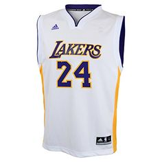 NBA Los Angeles Lakers Kobe Bryant Alternate Youth Jersey White Medium *** Read more  at the image link.