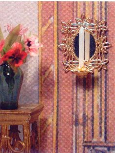 how to: candle sconce