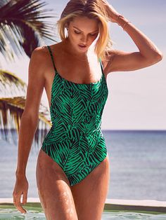 Victoria's Secret Forever Sexy Low-back One-piece