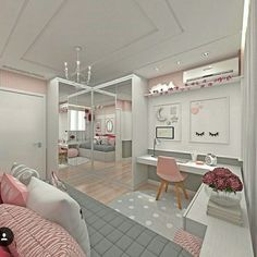 Teen girl bedrooms, stop by this ref for that truly superb bedroom design, make-over number 5230094180 Room, Room Design, Bedroom Themes, Bedroom Design, House Rooms, Small Room Bedroom, Room Decor, Small Bedroom, Dream Rooms