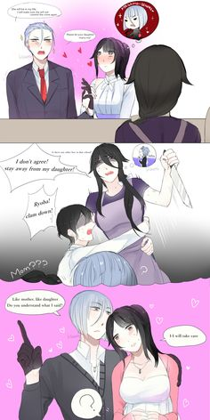 How to win the trust of mother-in-law? by Koumi-senpai on DeviantArt
