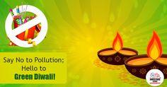 Go Green Diwali Decoration