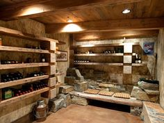 Wine cellar - Could be combined with a root cellar.  At least I hope so. :-)