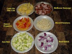 REC. REV. & PICS: Fresh Veggies & Kielbasa Sausage Grilled Hobo Dinner   Taste of Home Community