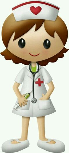 The nurse told mia that she was in a coma that said she was the only one in the hand. that said the decision should take whether she stays Nurse Clip Art, Nurse Drawing, Nurse Cartoon, Cute Clipart, Medical Illustration, Punch Art, Nursing Students, Print And Cut, Art Pictures