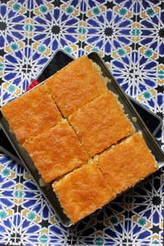 Revani: Turkish Semolina Cake Soaked in Syrup