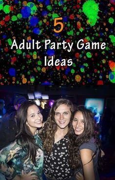 the best party games for big groups with all of the instructions and
