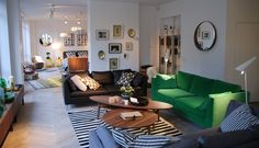 Showroom IKEA Ikea Stockholm, Decor Design, Furniture, Showroom Inspiration, Interior, Sectional Couch, Home Decor, Room, Ikea Showroom