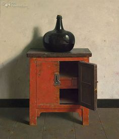Chinees kastje met open deurtje Art:Henk Helmantel