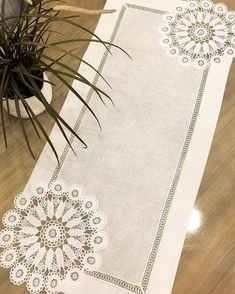 We continue to grow our products with innovations. Crochet Curtains, Crochet Doilies, Crochet Stitches, Crochet Flower Patterns, Crochet Flowers, Knitting Patterns, Table Runner And Placemats, Table Runners, Doilies Crafts