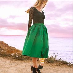 "The ""Ms."" Midi Skirt-@Belinda Chan & Beau"