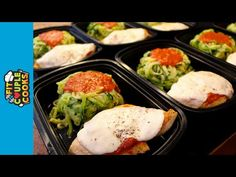 How to Meal Prep - Ep. 14 - CHICKEN PARMESAN & ZOODLES - YouTube