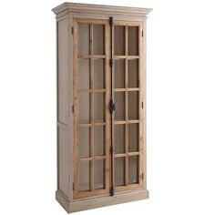 Cremone Tall Cabinet - Linen Gray $999.95 (Pier One)