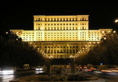 Bucharest by night - Palatul Parlamentului