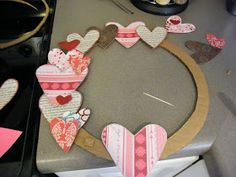 McAdams Family: Valentines Wreath