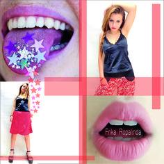 Acariciando lo áspero  el sábado pide un beso  besame besame besame  #frika_ropalinda #divididos #ropadediseñoargentina #photooftheday #beautiful #girl #fashion #moda #ropademujer #sábado #kiss #beso