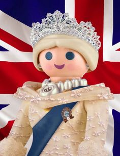 GOD SAVE THE QUEEN PLAYMOBIL