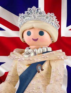 La reina de Inglaterra.
