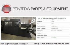 Printer, Model, Heidelberg, Printers, Scale Model, Models, Mockup