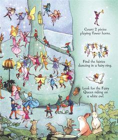 Image result for See Inside Fairyland Usborne Book