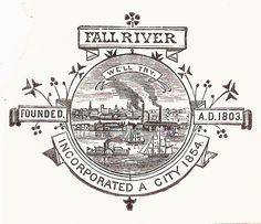 Seal of Fall River, Massachusetts (printed 1906)