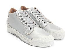 Fluevog Shoes | Shop | Magellan (Silver) | Sporty chukka sneaker