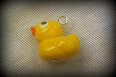 Rubber Ducky Charm by MarysMakingRoom on Etsy, $8.00
