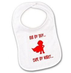 Please note: The photo shows two bibs but this listing is for one only. Funny Baby Bibs, Baby Boy Bibs, Funny Baby Memes, Funny Mom Quotes, Funny Babies, Funny Christmas Outfits, Funny Outfits, Funny Clothes, Funny Books For Kids