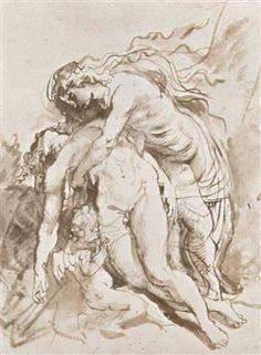 Death of Adonis - Peter Paul Rubens