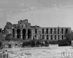 : Circo Massimo e Palatino Anno: 1940 Roman Empire, Rome, Photographs, Louvre, Antique, History, Retro, City, World