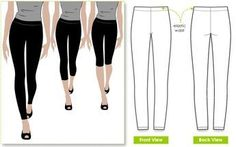 Easy Sewing Projects for Beginners - Style Arc's Laura Knit Legging