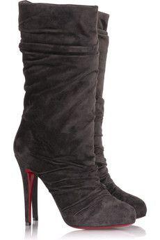Christian Louboutin Piros Boots