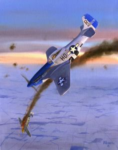 P-51 Mustang painting by Kevin Weber. beautifulwarbirds@gmail.com Twitter: @thomasguettler Beautiful Warbirds Full Afterburner The Test Pilots P-38 Lightning Nasa History Science Fiction World Fantasy...