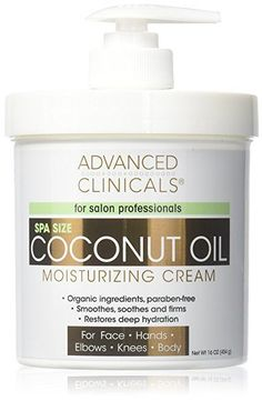 You also need to use more natural products in order to improve your hair's overall condition. Have you ever considered getting coconut oil for hair? There are different coconut oil hair products that are available. Coconut Oil Cream, Best Coconut Oil, Coconut Oil For Acne, Coconut Oil Soap, Best Body Moisturizer, Coconut Oil Moisturizer, Moisturizer For Dry Skin, Coconut Oil Health Benefits, Acne Oil