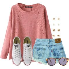 This sweater looks so comfy! by flroasburn on Polyvore featuring Chicnova…