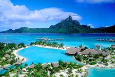Bora Bora, Tahiti ~ Le Meridien ~ oh so want to escape here!