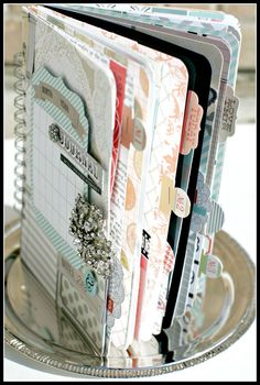 Teresa Collins - MEMORY JOURNAL cover side view