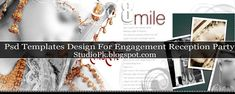 Psd Templates Design For Engagement Reception Party | StudioPk | Provide Do Photoshop PSD File