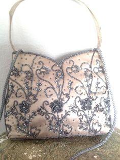Evening Bag Purse Beaded Magid Designer Fashion Stylish Chic Club Oarty Women  #Magid #EveningBag
