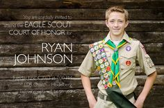 centerpieces eagle scout ceremony | The Johnson Family: Ryan's Eagle Scout Court of Honor