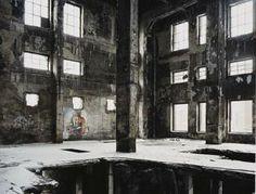 Inside the abandoned factory (images.arcadja.com, 2014)