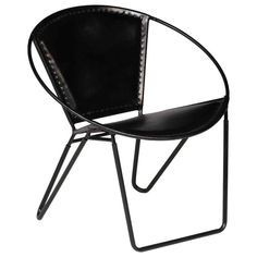 Colour: Black Vintage Papasan Style Material: Genuine goat leather & coated steel frame Dimensions: 70 x 70 x 70 cm (W x D x H) Polished, painted & lacquered Fabric: Real Leather No assembly required EAN: 793931960832 Swivel Recliner Chairs, Leather Recliner Chair, Papasan Chair, Pink Desk Chair, Tub Chair, Desk Chairs, Industrial Style Furniture, Retro Furniture, Design Club