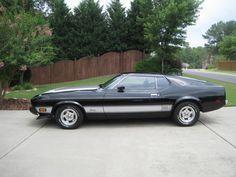 1973 Mach 1 Mustang Beautiful