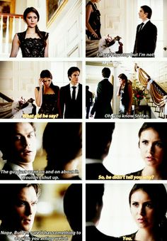 Damon and elena<3