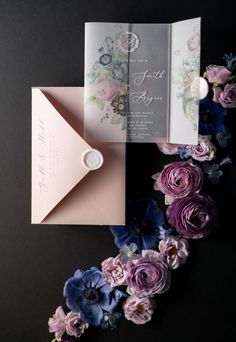WEDDING INVITATIONS calligraphy 01-ACGN-z #HowToWordWeddingInvitations