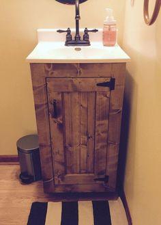 Bathroom Vanity 18W X 16D X 32H This Country Bathroom Vanity