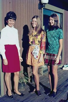 The girl in the middle 70's