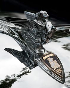 1933 Plymouth PC Sedan Hood Ornament - Phot by James Howe ...Brought to you by #CarInsurance@Houseofinsurance Eugene Oregon