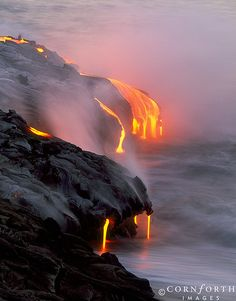 Lava Ocean Entry 5 (by Cornforth Images)